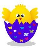 Цыпленок сярприза желтый Стоковое Изображение