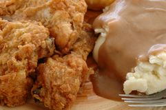 цыпленок южный Стоковая Фотография