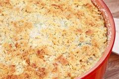 цыпленок casserole брокколи Стоковая Фотография RF