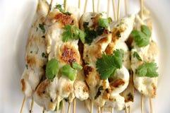 Цыпленок Kebabs Стоковая Фотография