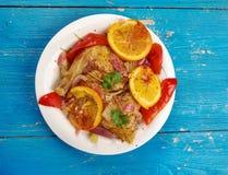 Цыпленок Peri Peri Стоковое Фото