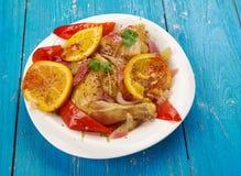 Цыпленок Peri Peri Стоковое Изображение