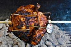 Цыпленок Rotisserie стоковое фото rf