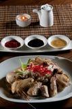 цыпленок singapore весь Стоковая Фотография RF