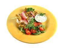 цыпленок skewers tandoori Стоковое Изображение RF