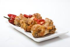 цыпленок spices крыла Стоковое Фото
