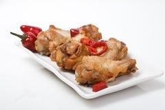 цыпленок spices крыла Стоковые Изображения