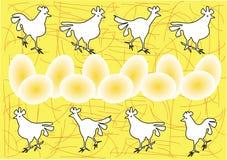 цыплята пасха иллюстрация вектора