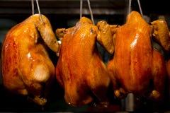 Цыпленк цыпленок зажаренный в духовке BBQ Стоковая Фотография RF