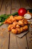 цыпленок барбекю вкусный стоковое изображение