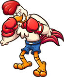 Цыпленок боксера бесплатная иллюстрация
