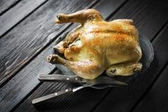 цыпленок весь стоковое изображение rf