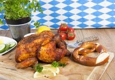 цыпленок весь стоковая фотография rf