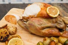 Цыпленок лимона и чеснока Стоковые Фотографии RF