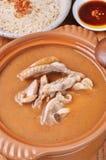 Цыпленок масла сезама Стоковое Изображение
