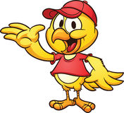 Цыпленок нося крышку Стоковая Фотография RF