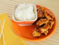 Цыпленок общего Tso Стоковая Фотография
