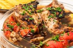 Цыпленок рассола стоковое изображение rf
