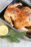 Цыпленок рождества Стоковая Фотография