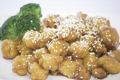 Цыпленок сезама Стоковая Фотография RF