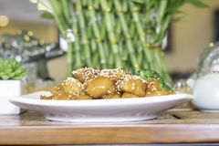 Цыпленок сезама Стоковое Изображение RF