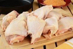 цыпленок соединяет сырцовое стоковые фотографии rf