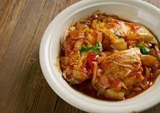 Цыпленок тушёного мяса Стоковое Фото