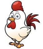 Цыпленок шаржа иллюстрация вектора