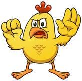 Цыпленок 03 шаржа Стоковое Фото