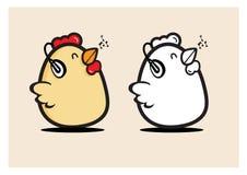 Цыпленок яичка музыки рождения Стоковое Изображение RF