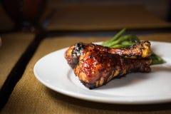 Цыпленок BBQ Стоковое Изображение