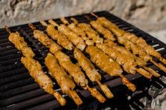 Цыпленок BBQ Стоковые Изображения