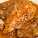 Цыпленок Chasseur Стоковое фото RF