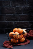 цыпленок eggs сырцовое Стоковая Фотография