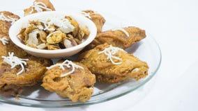 Цыпленок Milanese стоковые изображения