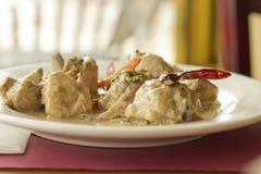 Цыпленок Mughlai индейца стоковое изображение