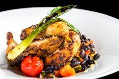 Цыпленок Piri Piri стоковая фотография