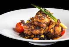 Цыпленок Piri Piri стоковое изображение