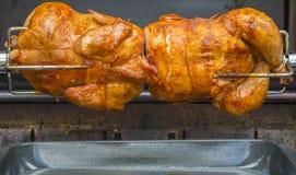 Цыпленок #1 Rotisserie стоковая фотография