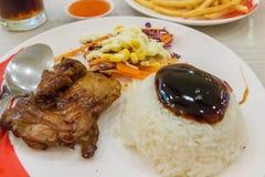 Цыпленок Teriyaki Стоковое Изображение
