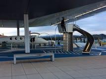 Цюрих-авиапорт, Швейцария, земля игры Стоковые Изображения