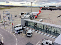 Цюрих-авиапорт, Швейцария Стоковое Изображение RF