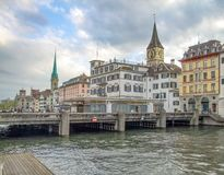Цюрих в Швейцарии стоковые изображения