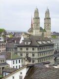Цюрих в Швейцарии Стоковые Фотографии RF
