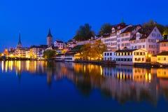 Цюрих, Швейцария Стоковое Изображение RF