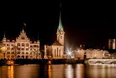 Цюрих Швейцария Стоковое Изображение