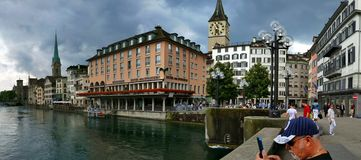 Цюрих - Швейцария Стоковые Фото