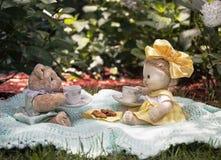 Чаепитие игрушки Стоковые Фотографии RF
