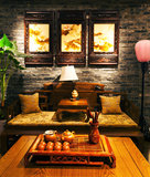 Чайная комната стоковая фотография rf