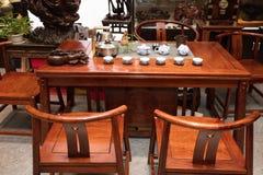 Чайная современных китайских семей Стоковые Изображения RF